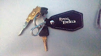 Gun Key Royal Enfield Bullet