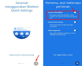 Cara Membuat Quick Setting Di Bawah Layar Hp Android