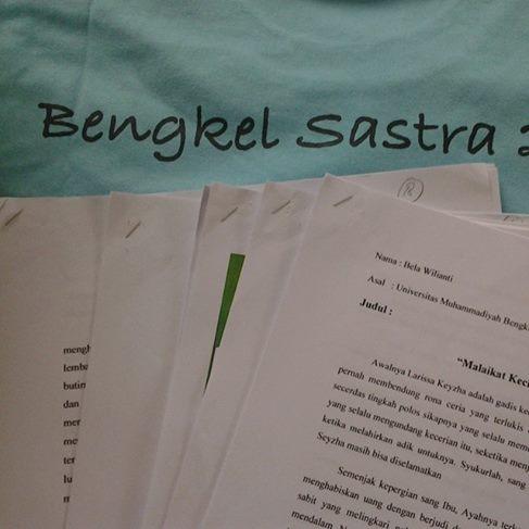 Update Naskah Bengkel Sastra Cerpen Bagi Mahasiswa Kantor Bahasa Bengkulu