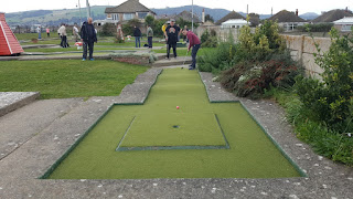 Prestatyn's Crazy Golf course