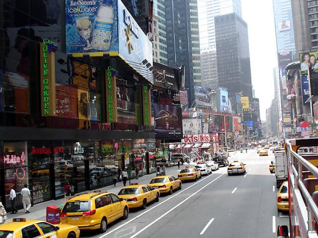 Olive Garden Times Square Nova York
