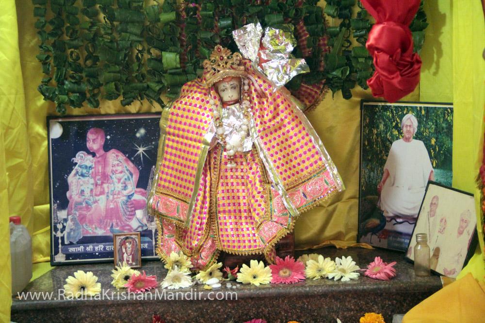 god radha krishna temple