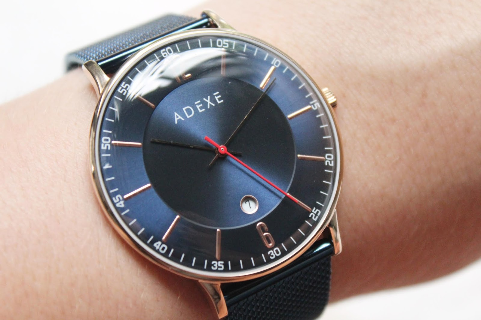 Adexe MAC Grande Electric Rose Watch