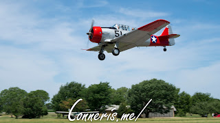 NX37642 North American Harvard IIA Flyby 2