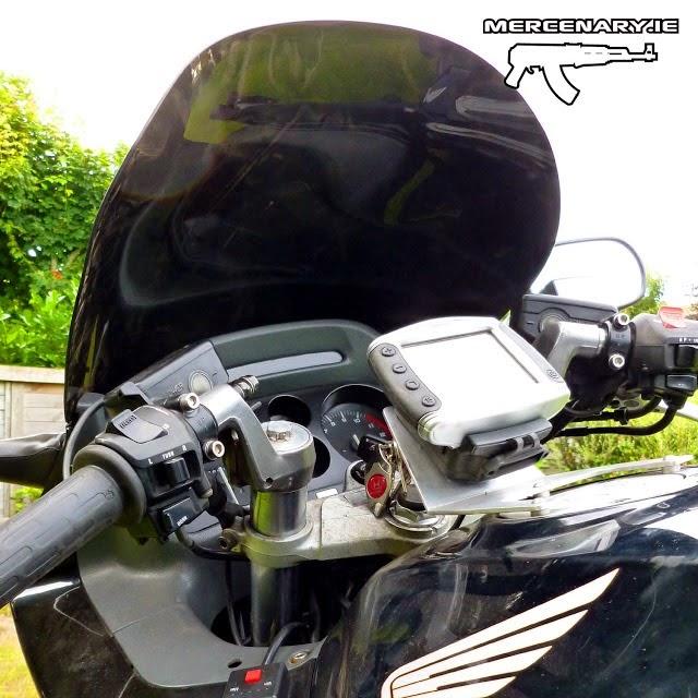 CBR1000F - GPS Bracket