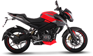 Bajaj Pulsar 200NS Wild Red Color