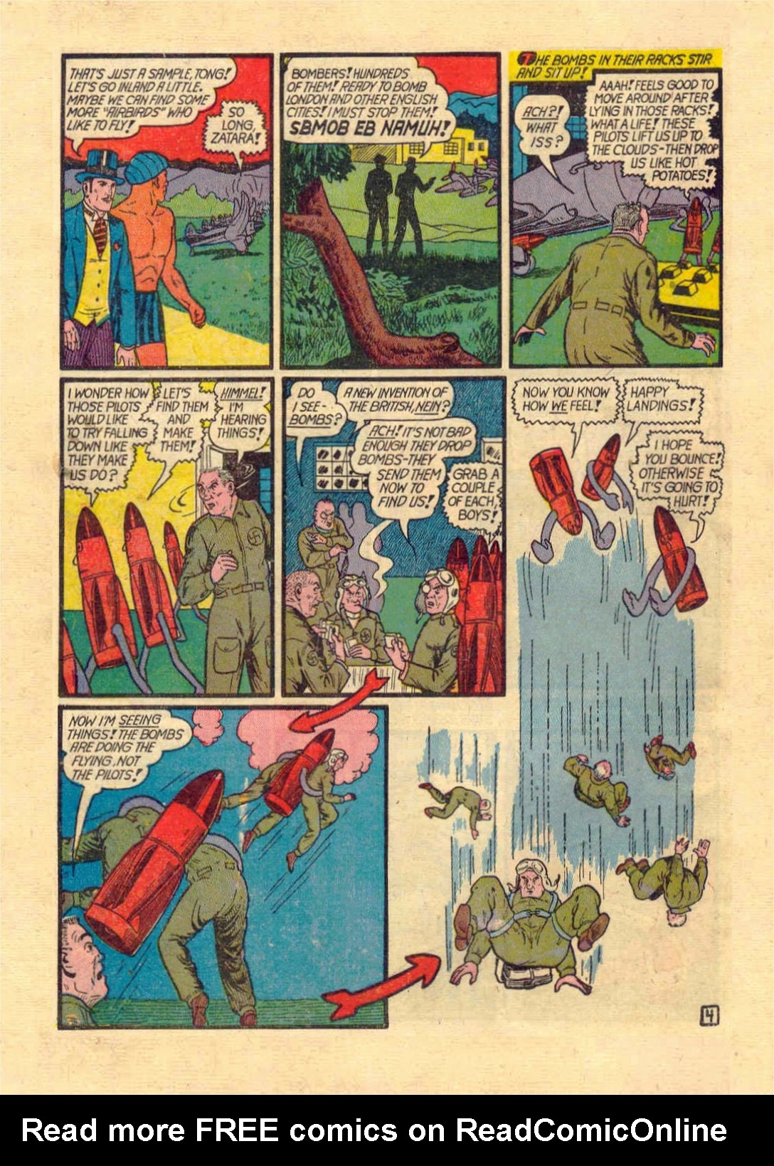 Read online Action Comics (1938) comic -  Issue #46 - 59