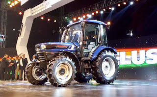 Escorts Group Unveils India's First Autonomous Tractor Concept news in hindi