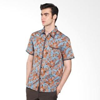 Aneka Model Baju Batik Pria Kombinasi Terbaru