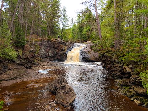 Upper Falls at Amnicon Falls State Park