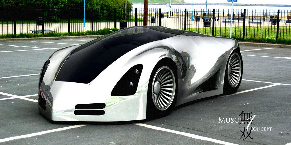 Dsng S Sci Fi Megaverse Concept Cars Part 2
