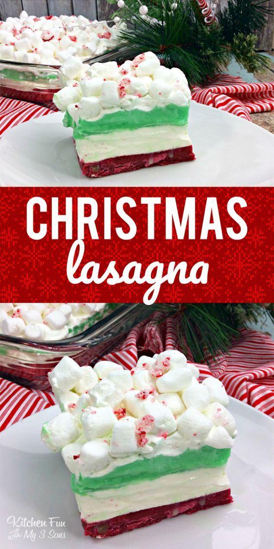 Christmas Lasagna