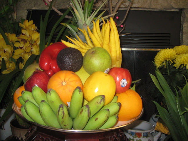 Custom of the five‑fruit tray 3