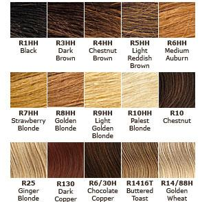 Black Hair  Color  Auburn Hair  Color  Chart