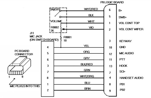 Motorola Mic Wiring Diagram - Wiring Diagram Update on