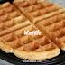 Resepi Waffle Lembut dan Mudah