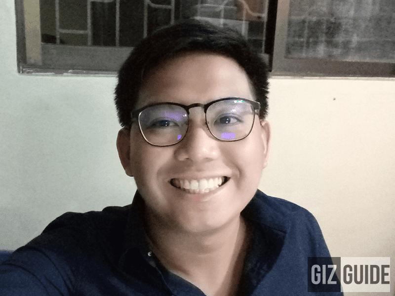 Semi-lowlight selfie