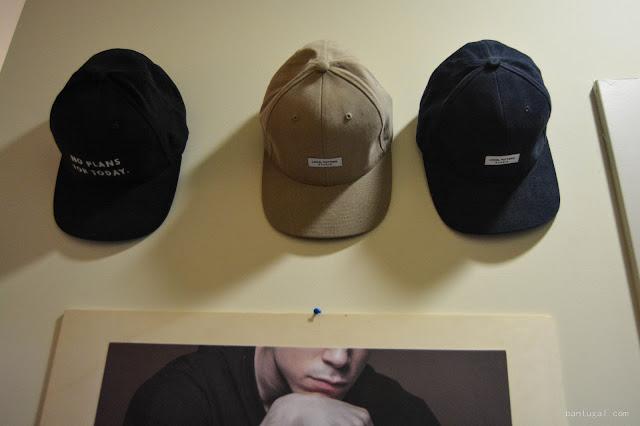 gorras de la firma local pattern en el designroom x resa Bilbao 2016