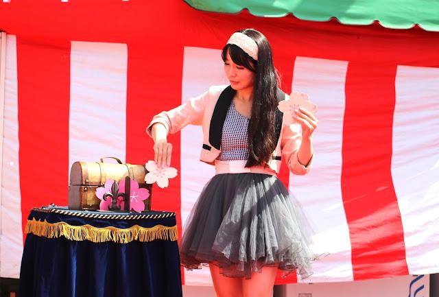 桜マジック|女性マジシャン・アリス(有栖川 萌)|☆マジックショー・イリュージョン・和妻の出張・出演依頼受付中☆