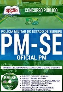 Apostila Concurso PM-SE 2018 Oficial PM