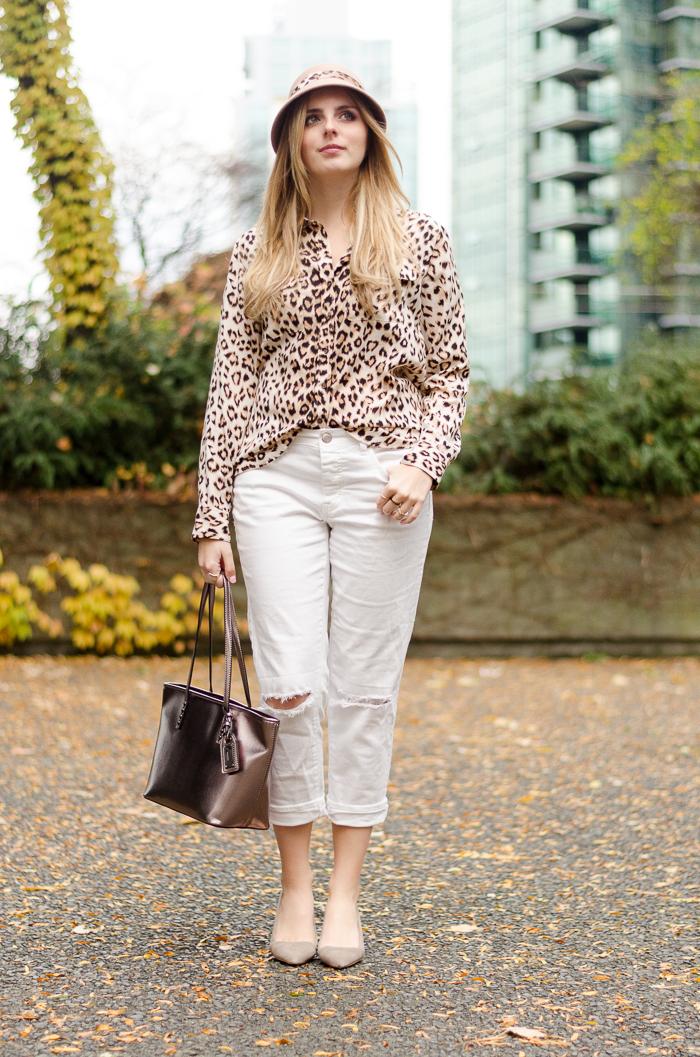Boyfriend Jeans, Aldo Accessories Hat, Leopard Print Hat, Aldo Heels, American Eagle Jeans