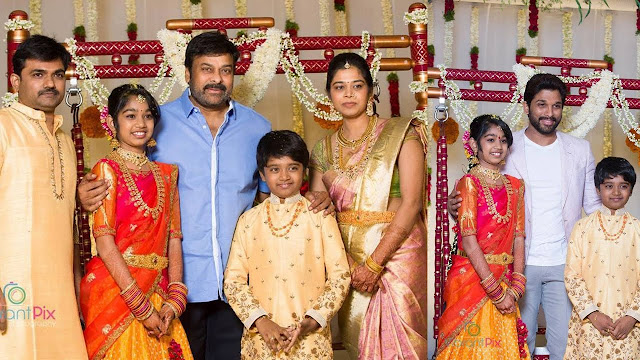 Tollywood-director-Maruthis-daughter-half-saree-function5