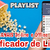 Playlist - Canais on-line e Offline - Verificado de lista