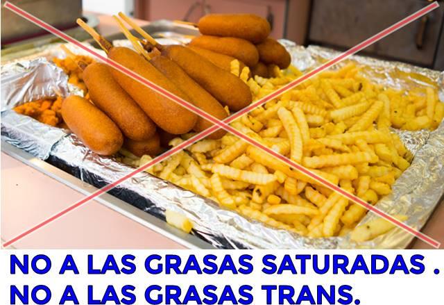 Grasas trans promueven la obesidad y la diabetes infantil