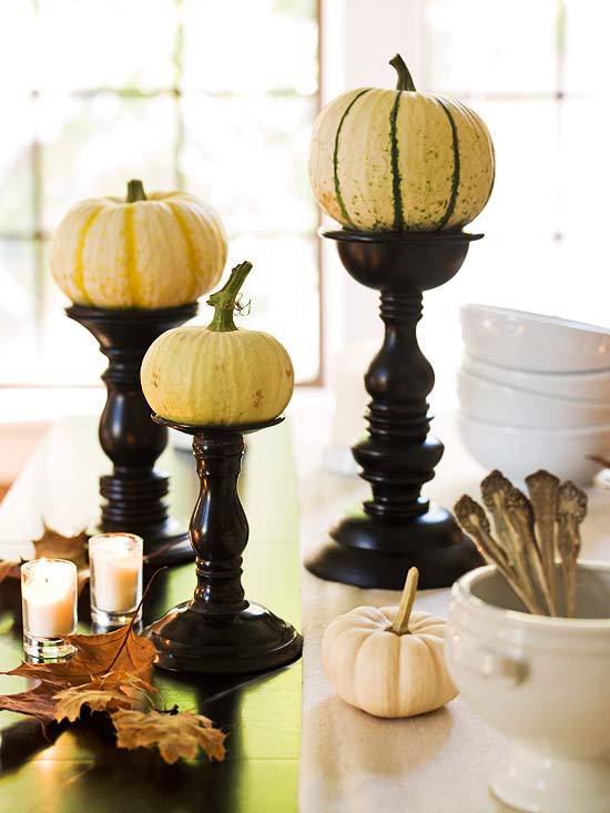 10 Ideas For Gourds And Pumpkins For Your Fall Decorating