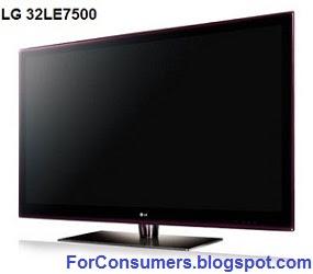 LG 32LE7500 TV
