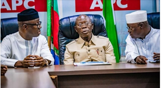 Image result for What DSS report says about Oshiomhole