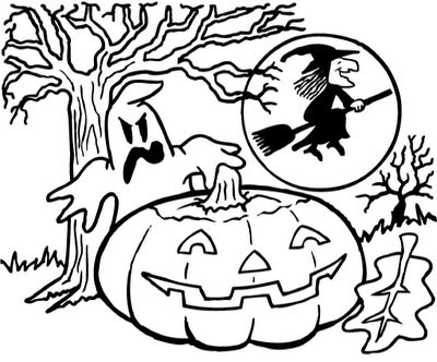 transmissionpress: Printable Halloween Coloring Pages