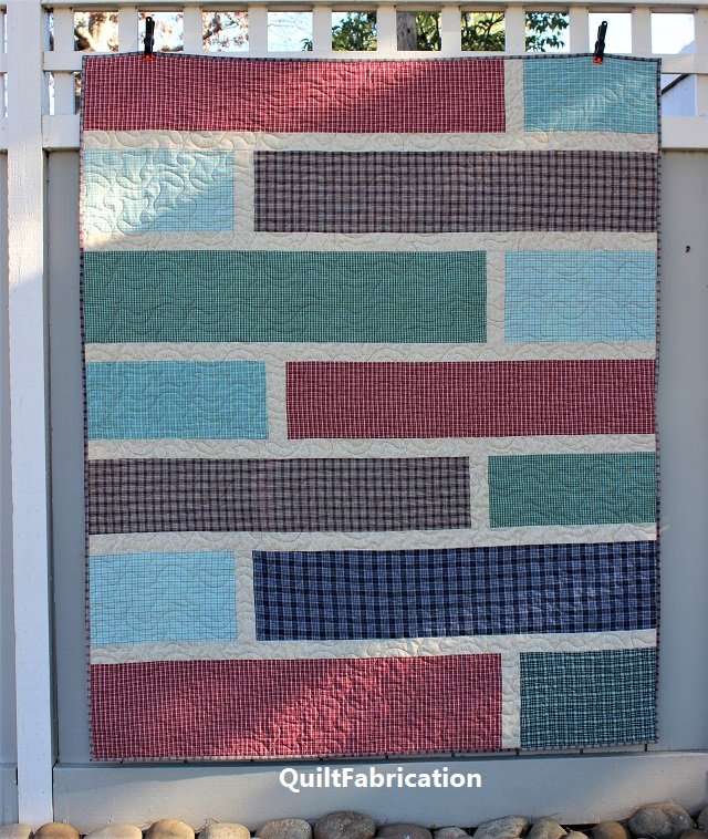 Quarter Cut 3 quilt by QuiltFabrication