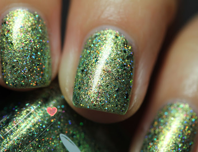 Girly Bits Cosmetics Underwater Secrets swatch by Streets Ahead Style