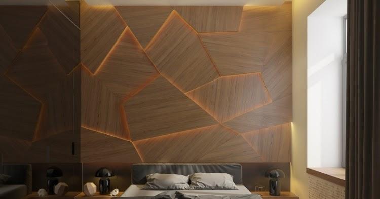 Dormitorios con Paneles de Madera  Ideas para decorar