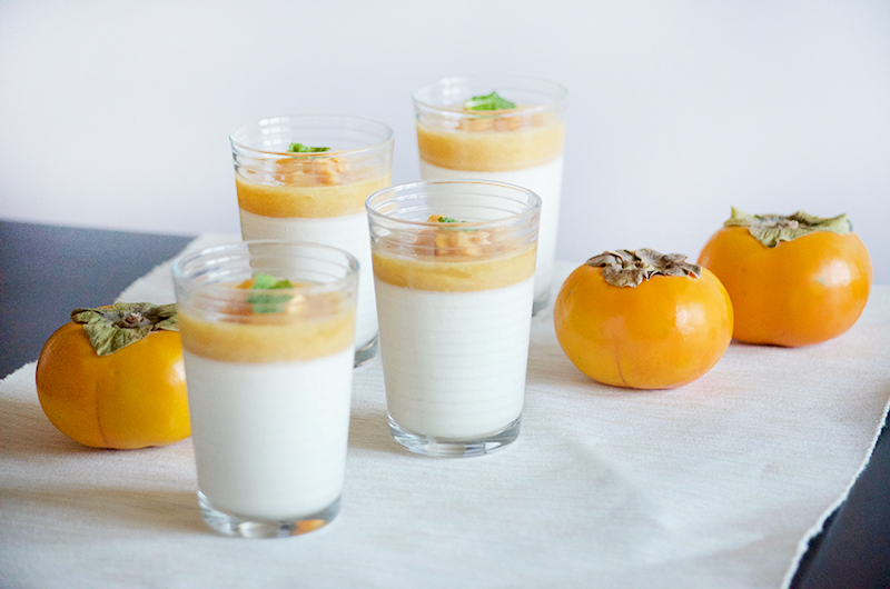 Persimmon Panna Cotta | Obsessive Cooking Disorder