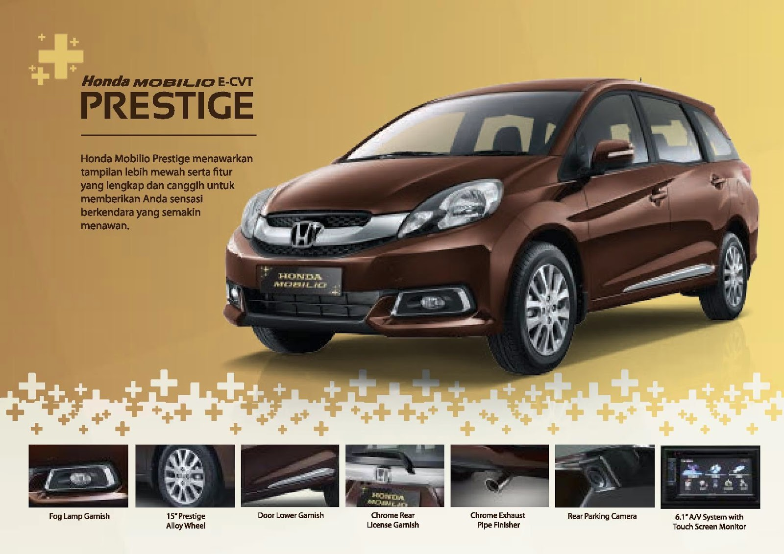 Honda Mobilio Jenis Prestige