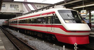 Tobu Isesaki Line Train, Tokyo, Japan.