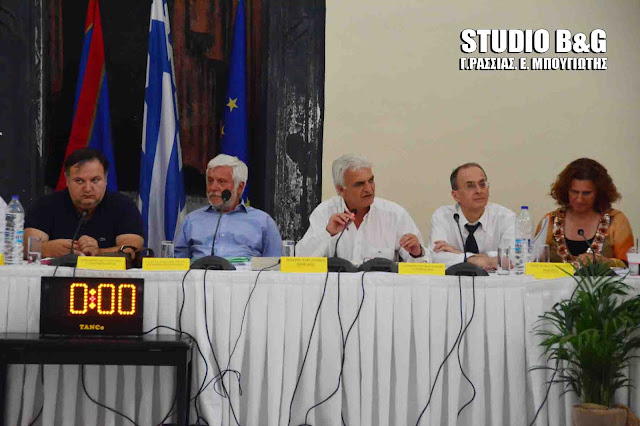 Απολογισμός έργου για την περιφερειακή αρχή Πελοποννήσου