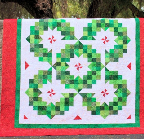 Ring of Wreaths Quilt - Tutorial
