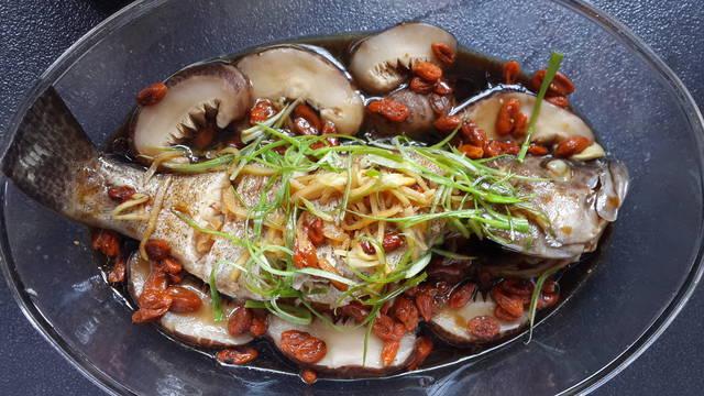 Stim ala Hong Kong grouper
