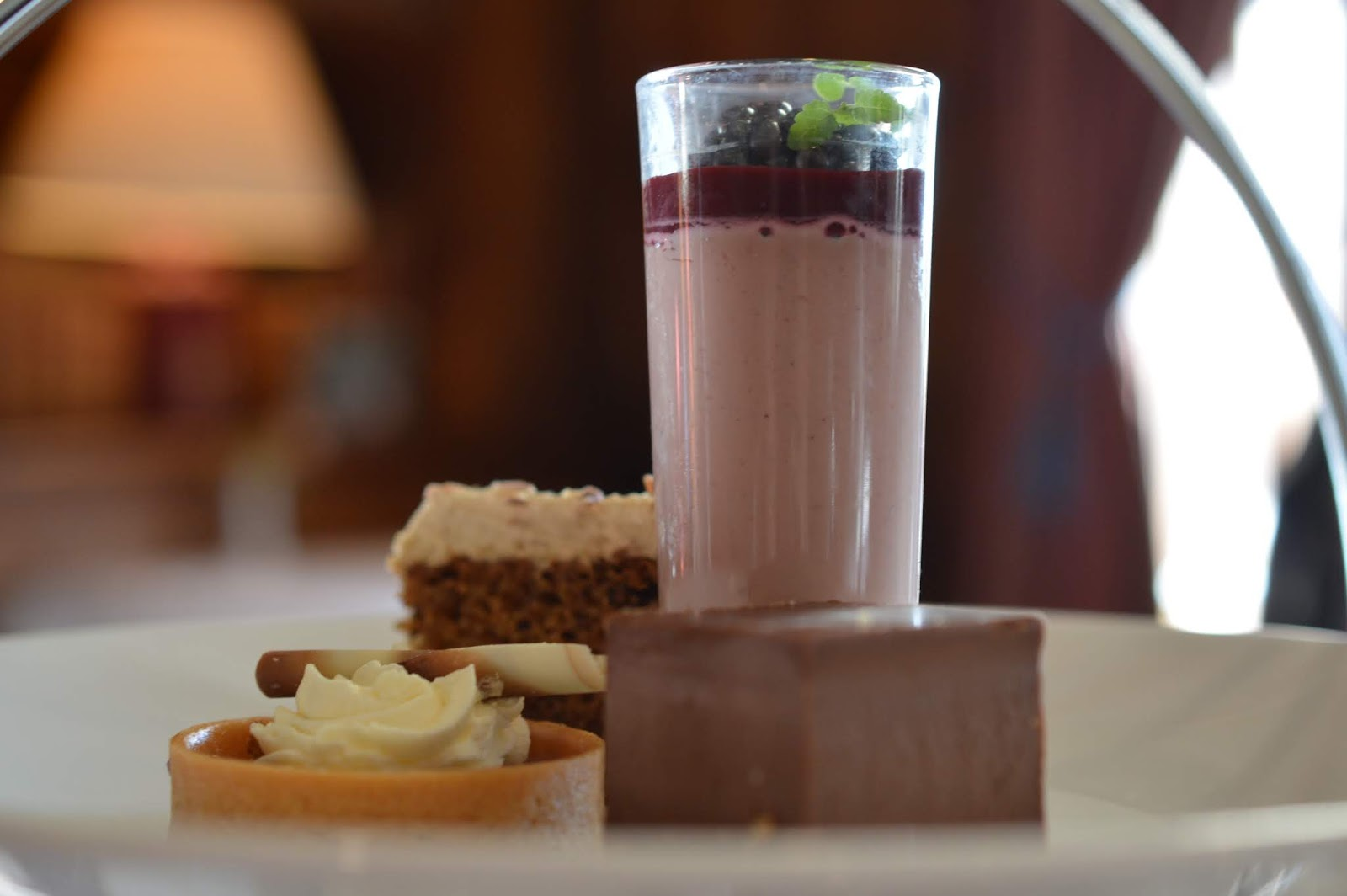 10 Reasons to Stay at Matfen Hall in Northumberland with Kids  - afternoon tea cakes