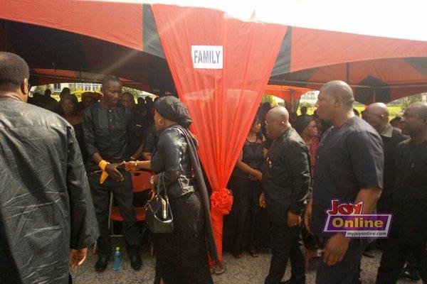 Photos: Akufo-Addo, Tourism Minister, Asiedu Nketia, others attend Paapa Yankson's funeral