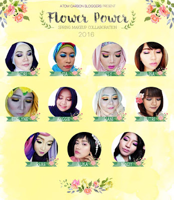 Flower Power Spring Makeup Collaboration