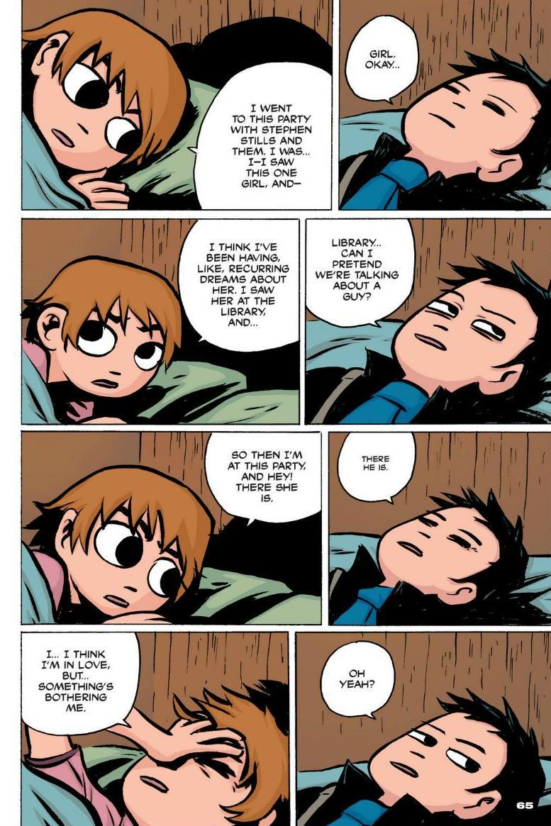 Read online Scott Pilgrim comic -  Issue #1 - 58