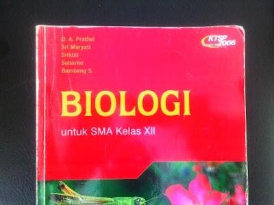 Buku Biologi untuk SMA kelas XII