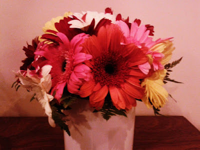 birthday, flowers