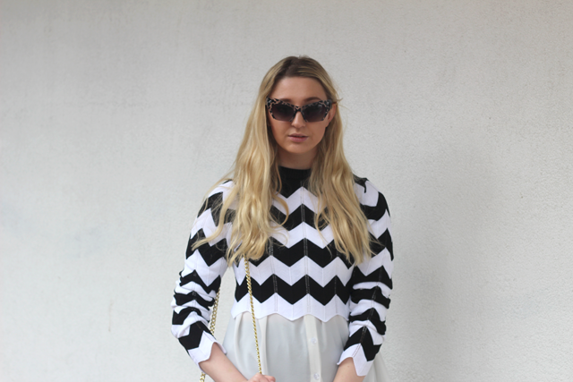 missguided monochrome outfit blog