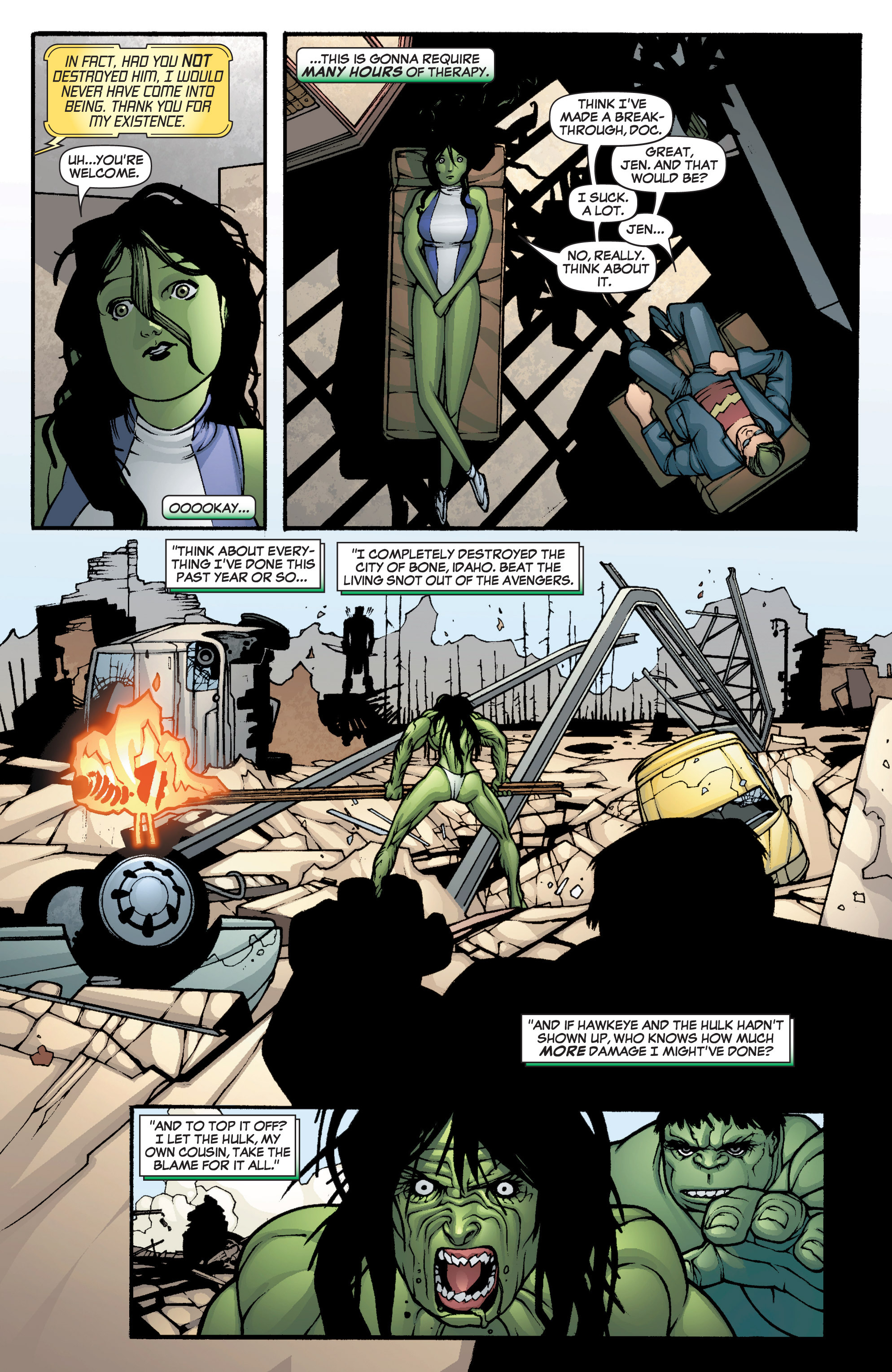 Read online She-Hulk (2005) comic -  Issue #1 - 17