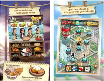 Warung Chain: Go Food Express MOD APK v1.0.8 (Unlimited Coins & All)